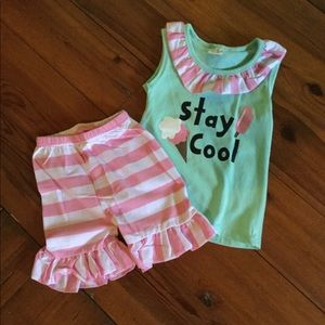 Other - 2pc ice cream outfit